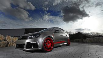 Volkswagen golf r static wallpaper