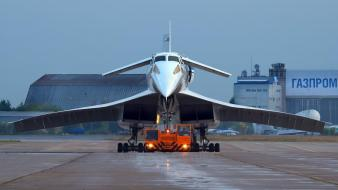 Aircraft airliners jets tupolev tu-144 wallpaper