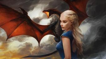 And fire daenerys targaryen rhaegar upscaled khaleesi wallpaper