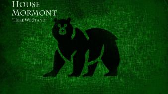 And fire tv series hbo house mormont wallpaper