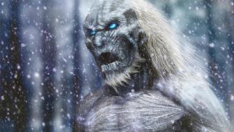 Art artwork game of thrones walkers walker wallpaper