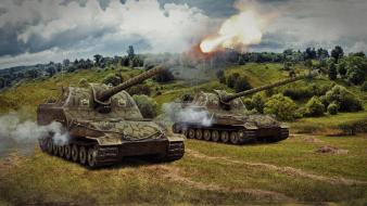 Artillery world of tanks Wallpaper