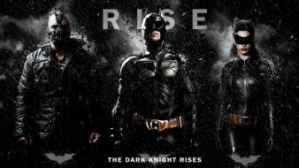Bane batman the dark knight rises catwoman hero wallpaper