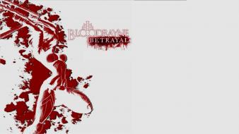 Bloodrayne: betrayal bloodrayne video games white background wallpaper