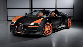 Bugatti veyron grand sport vitesse record speed wallpaper