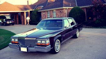 Cars cadillac edited 1981 fleetwood brougham wallpaper