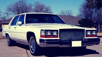 Cars cadillac edited 1988 fleetwood brougham Wallpaper