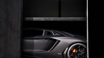 Cars lamborghini aventador races Wallpaper