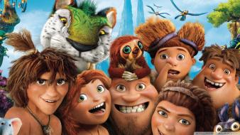 Characters the croods wallpaper