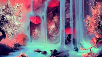 Cyril rolando original content cherry blossoms scenic trees wallpaper