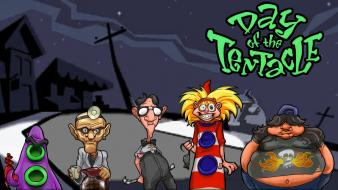 Day of the tentacle game wallpaper