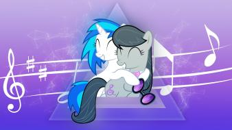 Dj pon-3 octavia pony: friendship is magic wallpaper