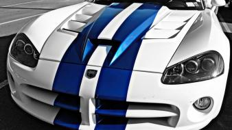 Dodge viper cars muscle selective coloring wallpaper