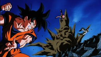 Dragon ball z son goku disk mb wallpaper