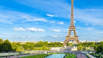 Eiffel tower paris cityscapes france towers wallpaper