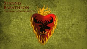 Fire tv series stannis baratheon hbo house Wallpaper