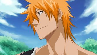 Ichigo orange hair final getsuga tenshou mugetsu wallpaper
