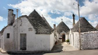 Italia italy alberobello puglia architecture cities Wallpaper