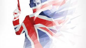 James bond union jack ipad skyfall 3 retina Wallpaper
