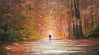 Jeff rowland artwork autumn lovers paintings wallpaper