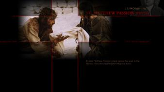 Jesus christ bach bluegirl matthew passion wallpaper
