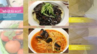 Korea korean food jajangmyeon jjamppong wallpaper