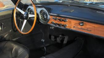 Lancia flaminia super sport cars interior wallpaper