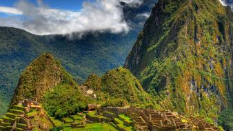 Machu picchu peru nature Wallpaper