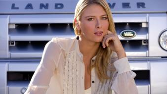 Maria sharapova tennis players Wallpaper