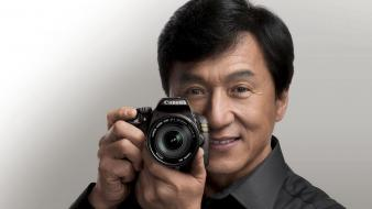 Men chinese jackie chan actors canon faces wallpaper