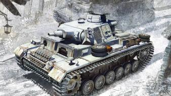 Military tanks panzerkampfwagen panzer iii wallpaper