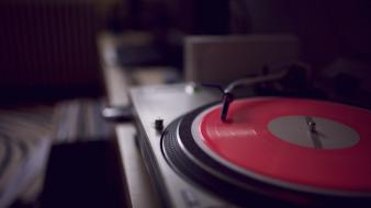 Music turntables wallpaper