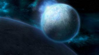 Outer space starcraft artwork ii wallpaper