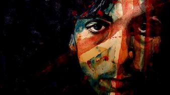 Pink floyd union jack artwork syd barrett drawings wallpaper