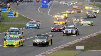Porsche 911 rsr mercedes-benz sls amg gt Wallpaper