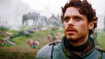 Robb stark faces hbo scene richard madden wallpaper