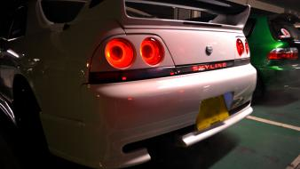 Skyline r33 jdm japanese domestic market taillights wallpaper