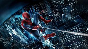 Spider-man the amazing movie posters wallpaper