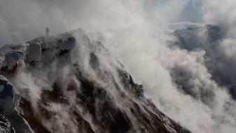 Steam mountains national geographic wallpaper