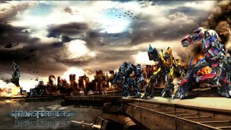 Transformers movies 2 decepticons vs wallpaper