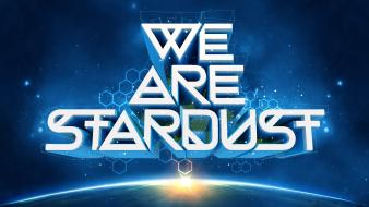 Typography carl sagan stardust artwork inspirational art wallpaper
