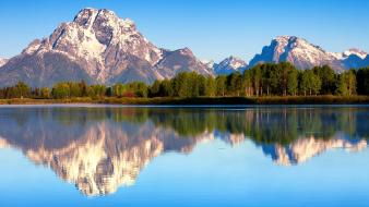 Usa wyoming grand teton national park Wallpaper