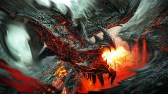 Valakas artwork dragons fantasy art wallpaper