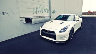 Vehicles gtr spec-v skyline r35 gt-r automobile wallpaper