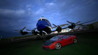 Video games cars lamborghini gallardo gran turismo 5 wallpaper