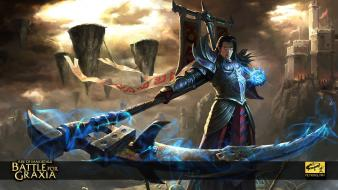 Video games immortals rise of battle for graxia wallpaper