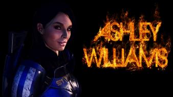 Video games mass effect 3 ashley williams Wallpaper