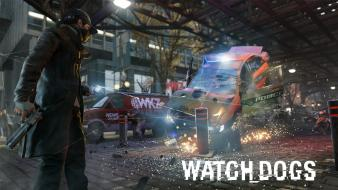Video games police watch dogs wallpaper