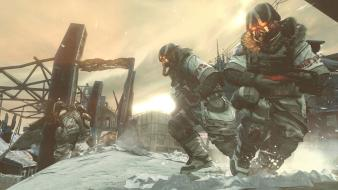 Video games shooter helghast killzone 3 game wallpaper
