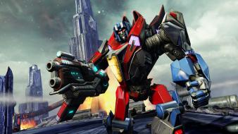 Video games transformers starscream war for cybertron Wallpaper